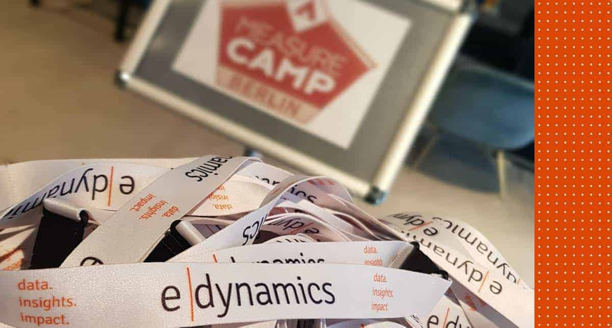 MeasureCamp Berlin 2019 e-dynamics Lanyard